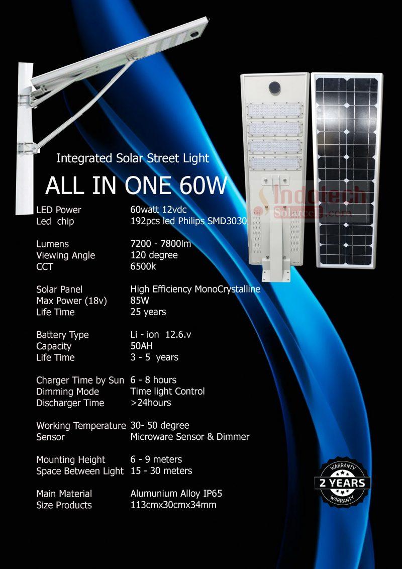 spesifikasi pju 60 watt, pju all in one 60 watt, tiang pju, pasang pju, pasang lampu tenaga surya, pengiriman pju, surya panel 60 watt, lampu jalan 60 watt